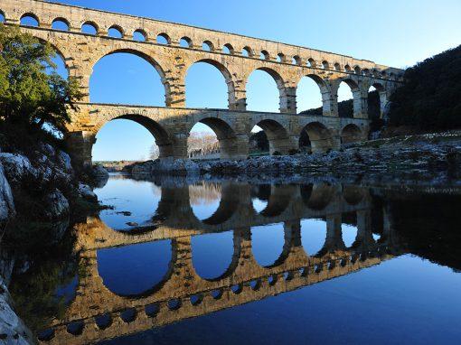 Maintenance du Pont du Gard